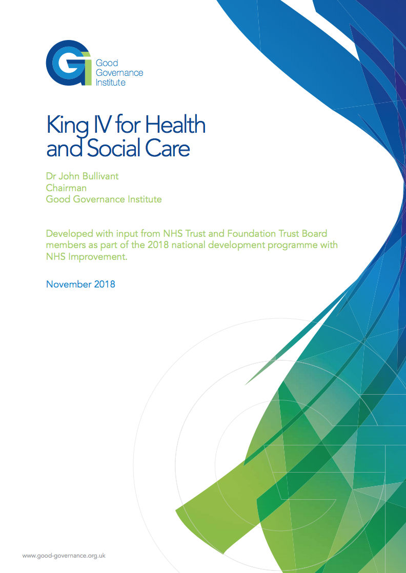 GGI King IV health social care