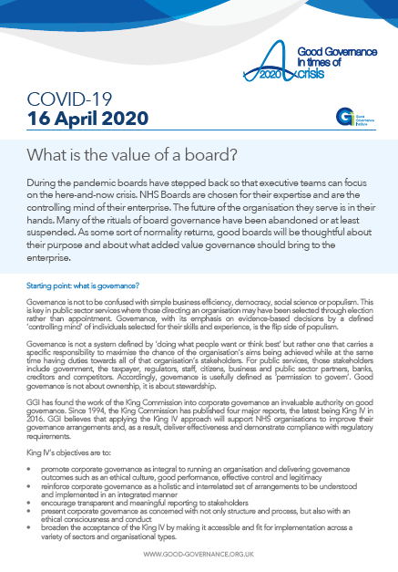 What is the value of a board?