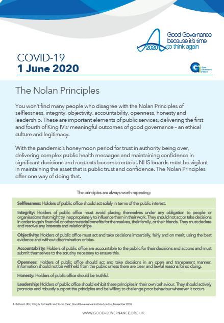 The Nolan principles