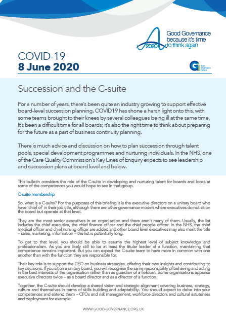 Succession and the C-suite