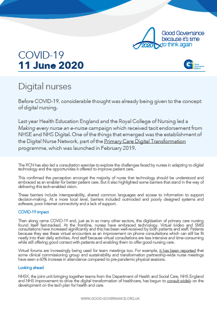 Digital nurses