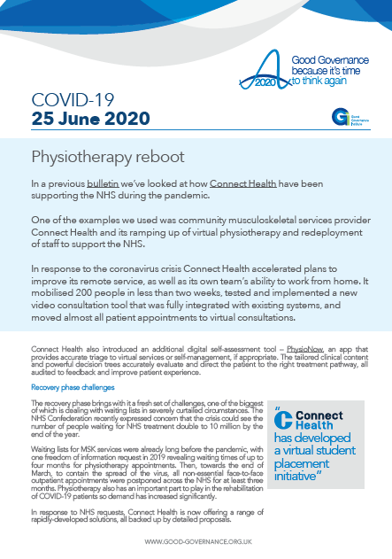 Physiotherapy reboot
