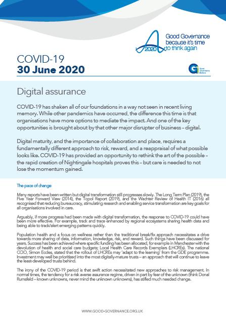 Digital assurance