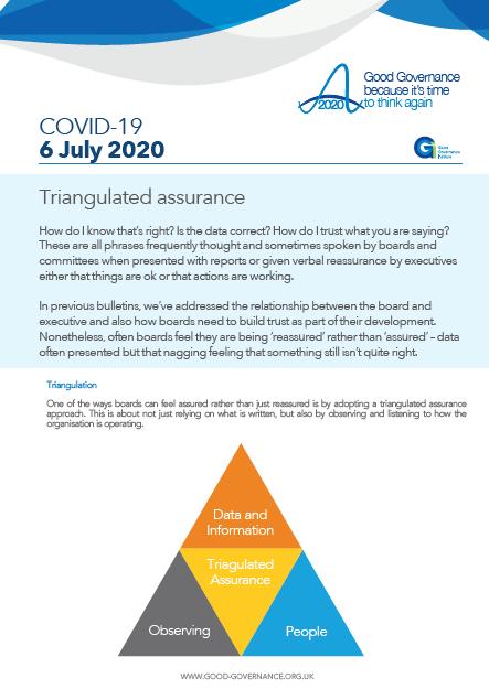 Triangulated assurance
