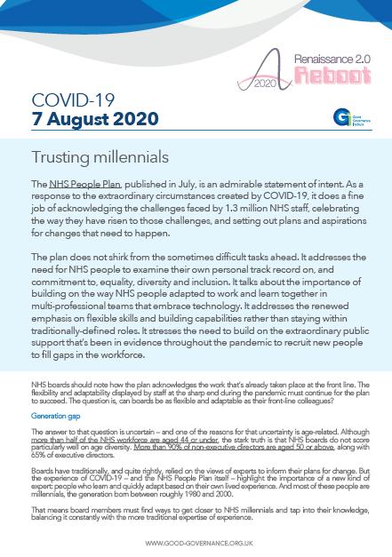 Trusting millennials