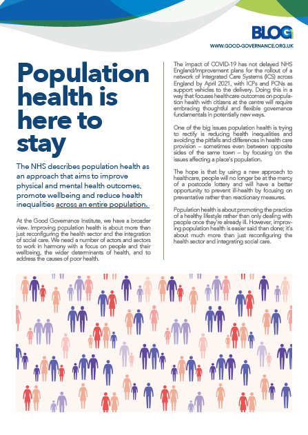 Population health is here to stay