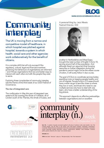 Community interplay