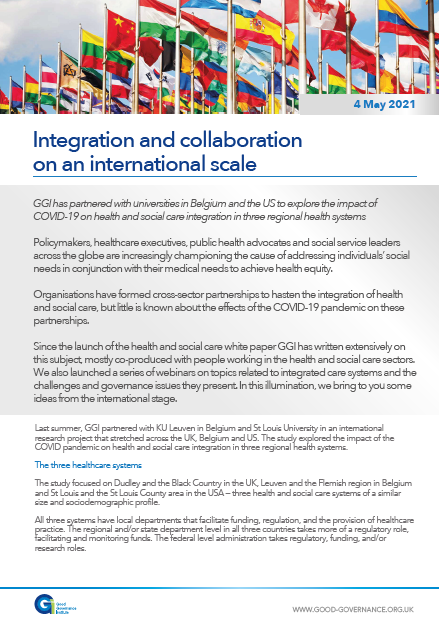 Integration and collaboration on an international scale